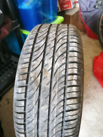 Brand new Steel Wheel and Tyre