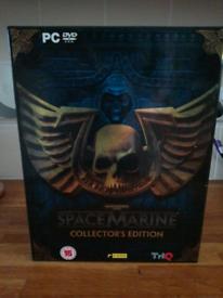 Warhammer 40,000 40k Space Marine PS3 brand new