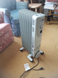 Portable Electric Oil Filled Rad Heater,  Convection Heater