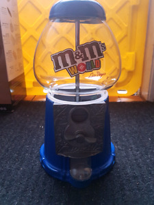 M&M coin or gum ball machine