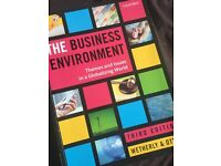 The Business Environment Text Book