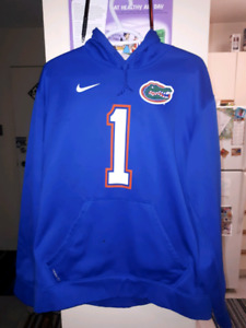 NIKE  Gator  official Throw back hoodie mint condition