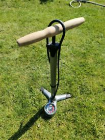 Bicycle Cycle Bike Car Foot Pump with Gauge