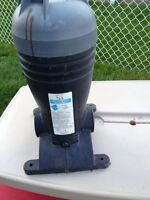 Purificateur pour piscine, Purifier for vinyl pools.