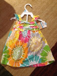 New carters dress and diaper cover