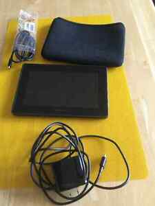 Blackberry Tablet incl. attachments