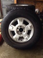 P265/70R17 tires on Ford rims