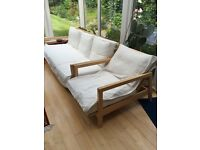 IKEA 3 seater plus 1 seater couch