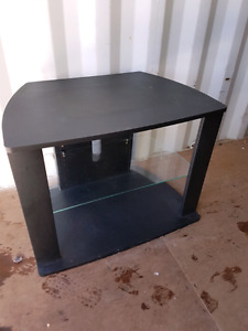 Black Small  TV stand