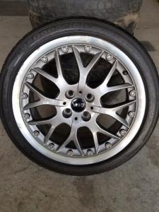 Mini Rims with BF Goodrich Tires