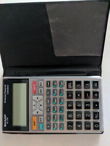 10-Digits Financial Calculator SHARP EL-738 - Great Businesstool