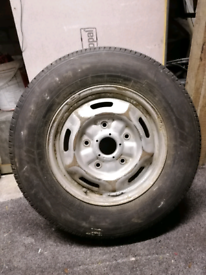 Ford transit spare wheel