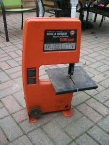 BLACK AND DECKER DRILL POWERED BAND SAW Call 905-686-7204-