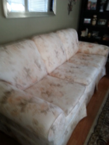Sofa and loveseat for sale.