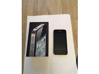 APPLE IPHONE 4 IN IMMACULATE CONDITION AND UNLOCKED - GOOD AS NEW!