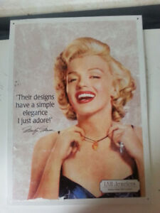 Marilyn Monroe Advertising Items