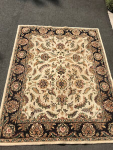 Large Wool Area Rug - Thick and Warm 10ft X 12ft