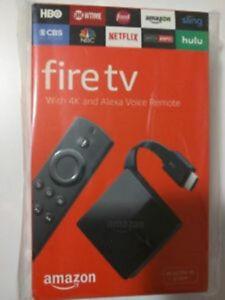Brand New Amazon Fire TV  3rd gen ,4K Ultra HD & HDR