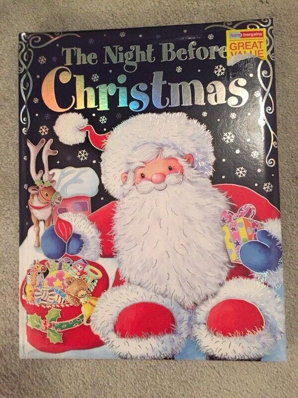Brand new Night before Christmas book