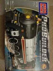 Mega bloks probuilder steam train