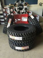 Ford F-150/Chevy Silverado Mud Tire and Rim package