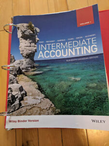 MSVU Intermediate Accounting Kieso, Weygandt 11th Canadian Ed