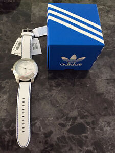 Adidas Men's Leather Watch 48mm **NEW**