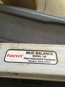 Fann Mud Balance instrumentation Model 140