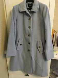 REDUCED. brand new. never worn **Land's End** Wool Coat Size 14 London Ontario image 1