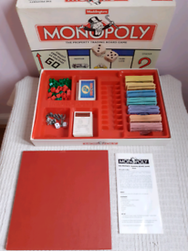 Fully Complete Vintage Monopoly