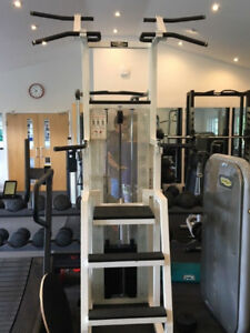 Assisted pull up back & chest Commercial quality gym equipment.