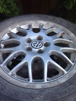 BBS Alu rims and tires for vw Jetta