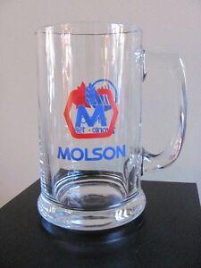 2x Bocks de biere Molson 1988 Beer Steins