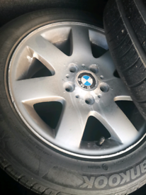 BMW 1 series alloys set of 4