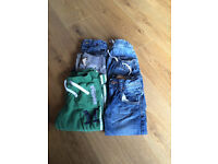 6 pairs of boys trousers aged 2-3 years