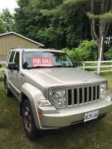 2008 Jeep Liberty Sport SUV, Crossover