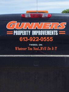 Gunners Excavating & property improvements