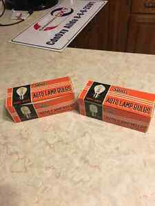 Vintage NOS Stanley Auto Lamp Bulbs, Motorcycle