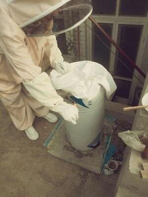 Beekeeping Jacket Hat Pull Over Smock Protective Equipment Coffee Xl