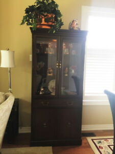 Dining Room Armoire - with contents!