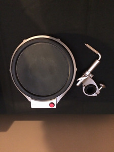 Pad- TP-100 10 inch 3 zone Electronique drum pad