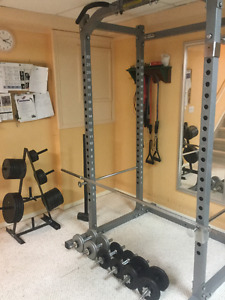 Complete Home Free Weight Home Gym
