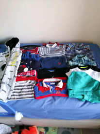 Baby boy's 18-24m tops and jumpers.