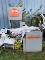 Marvel 2125A-PC60 Vertical Band Saw