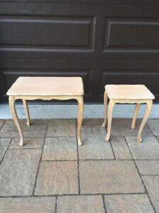 Matching Small Side Tables
