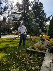 Available today ! Window washing home or business Fall cleanup