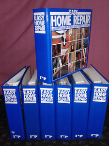 Easy Home Repair 7 massive step by step guide books from A to Z