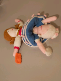 Reversible Knitted Topsy-Turvey Doll