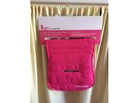 Car seat liner , pink liner
