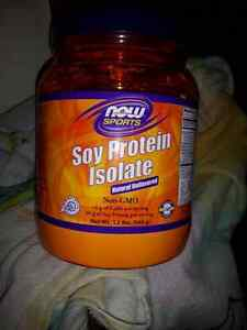 Now sports soy protein isolate